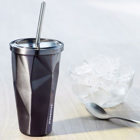 Stainless Steel Cold Cup - Charcoal, 16 fl oz. $19.95 at StarbucksStore.com