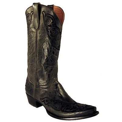 i really want black cowboy boots: Closet