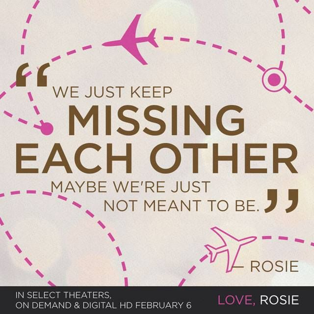 """Love Not Meant To Be Quotes: """"We Just Keep Missing Each Other, Maybe We're Just Not"""