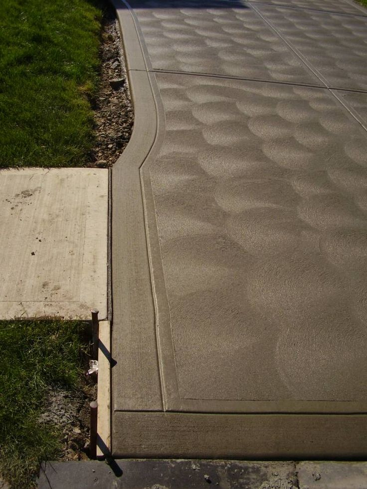 cement patio finishes | Concrete Finishes