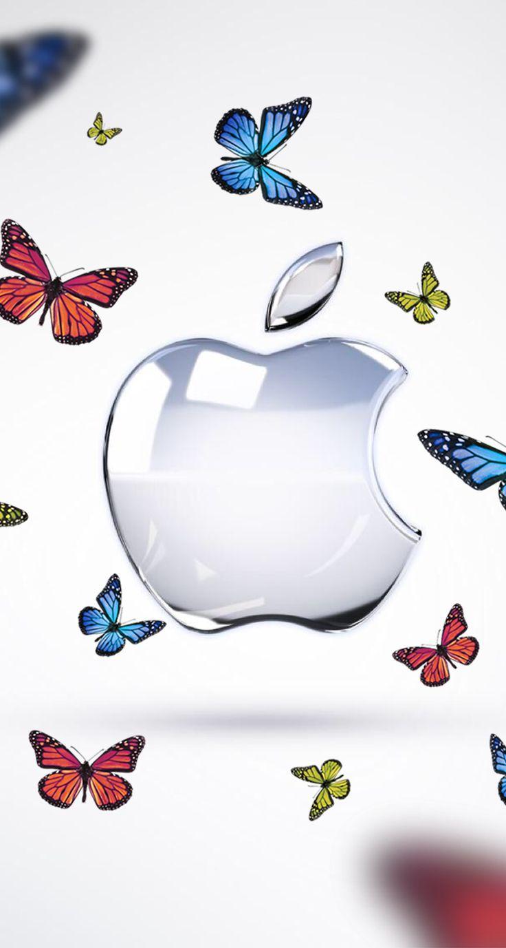 Wallpaper iPhone Apple ⚪️