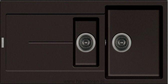 Enigma Hansloren zlewozmywak 15-komorowy z ociekaczem 500x1000x200 korek auto espresso - ENEO-2WAD  http://www.hansloren.pl/zlewozmywaki-15-komorowe/Hansloren/299