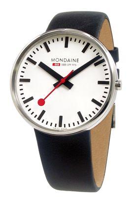 Mondaine Men's Official Swiss Railways Stainless Watch $175