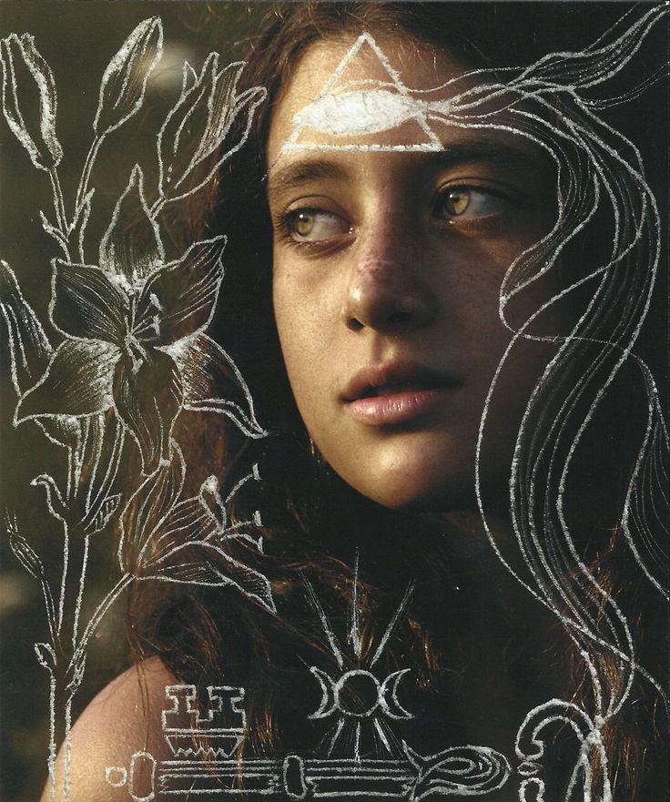 Luisa Catucci -SANTA CATERINA DA SIENA- stampa fine art su carta cotone e incisione contact us: parione9@gmail.com