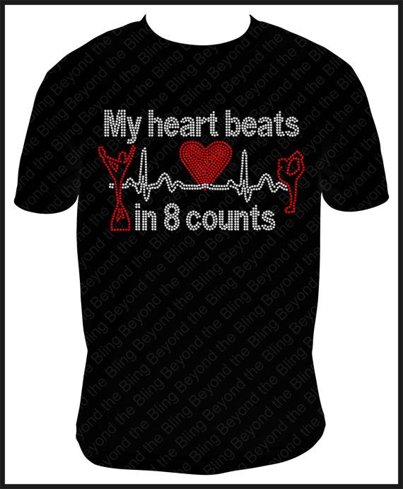 Cheer shirt cheerleader shirt My heart beats by BeyondtheBlingUSA, $25.00