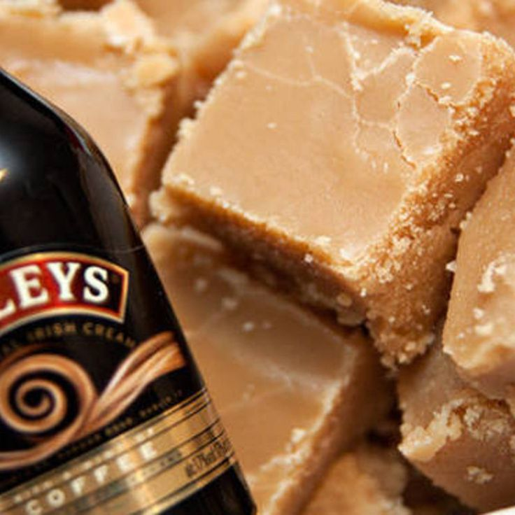 Microwaveable Baileys Fudge? Yes! Except I don't have a Microwave...