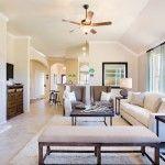 Brookstone Collection, Dickinson, Texas - living room    Lennar Dream Home