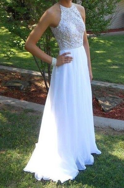 2017 prom dresses,prom dresses,long prom dresses,white prom dresses,party dresses,halter party dresses,sparkling party dresses,vestidos