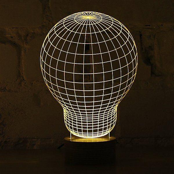 Bulbing Led Table Lamp By Studio Cheha Ch Bulb Table Lamp Lamp Design Led Lamp