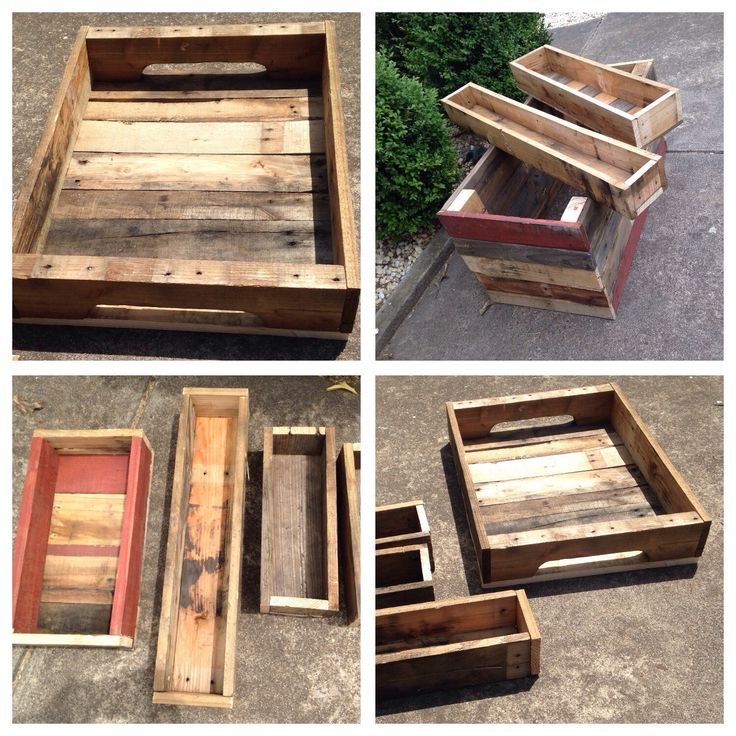 A personal favourite from my Etsy shop https://www.etsy.com/au/listing/266080653/pallet-planter-boxes-various-sizes-made