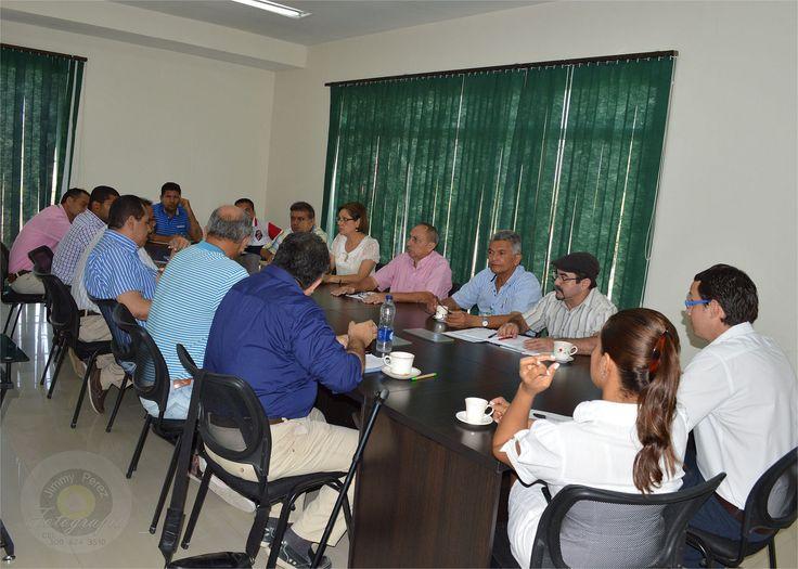 Reunion extraordinaria para realizar el seguimiento y medidas correspondientes al derrame de crudo en el Golfo del Morrrosquillo