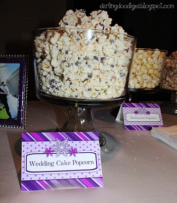 wedding cake popcorn wedding cake popcorn on our popcorn buffet 23519