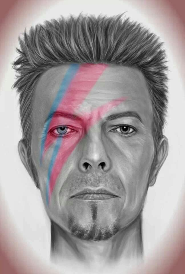 David Bowie - awesome artwork