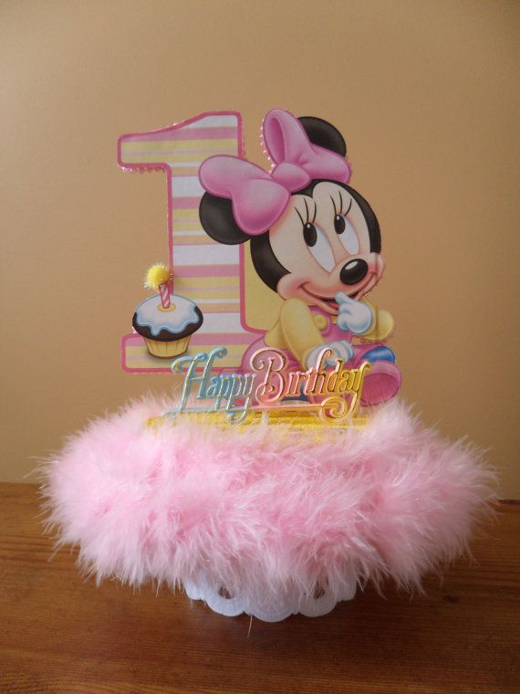 The 25 best Minnie mouse cake topper ideas on Pinterest Minnie