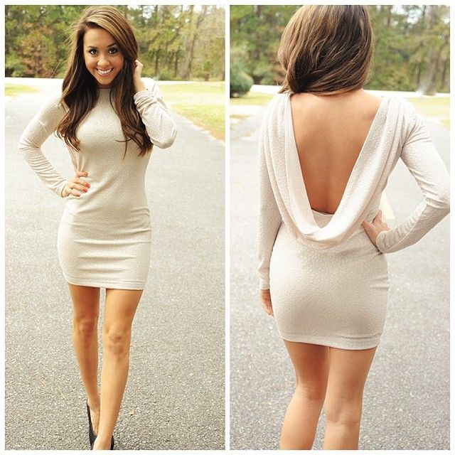 Gorgeous cream colored dress!