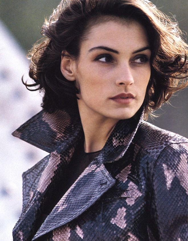 Famke Janssen, Photographed By Gilles Bensimon For Elle US,1991