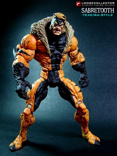 Loosecollector Custom Action Figures Official Website: Sabretooth : Texeira style