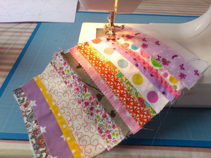 Tuto patchwork gratuit coussin patchwork quilt patch mzelle bulle couture tissus marie with - Tuto patchwork gratuit ...