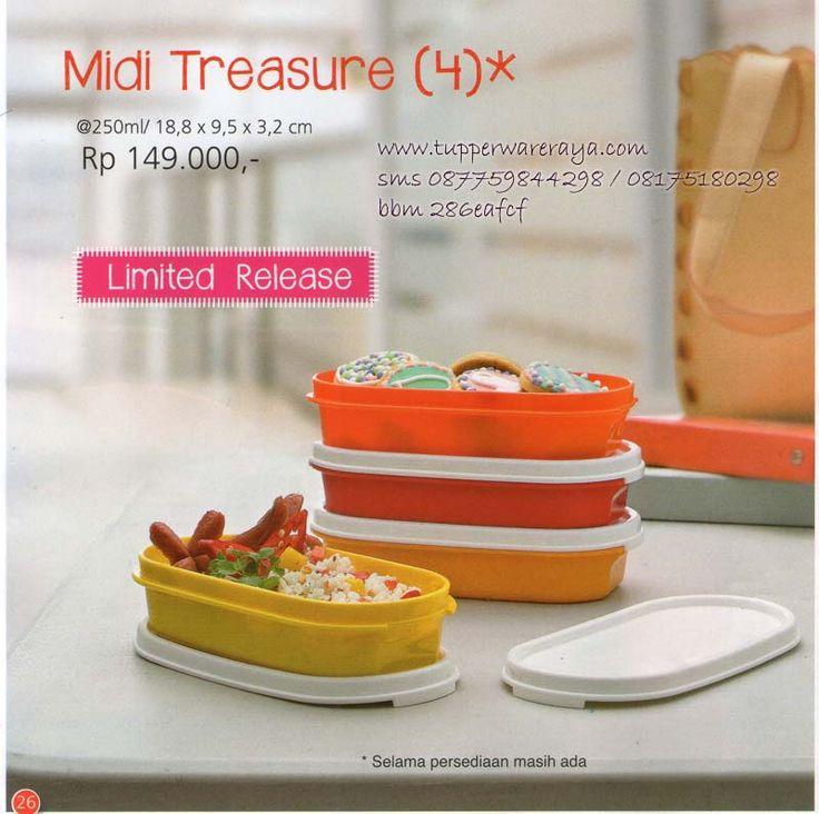 Katalog Tupperware Promo Agustus 2014 - Midi Treasure