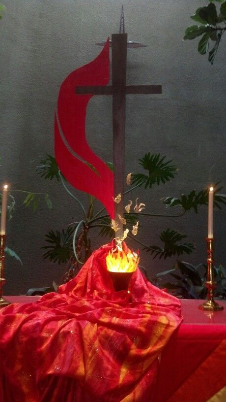 methodist church altar decorations - Google Search