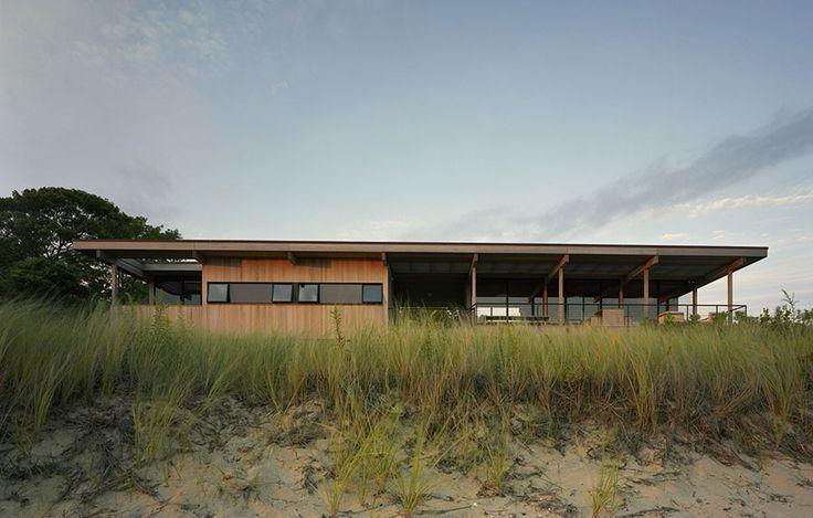 Modern Beach House by Cary Tamarkin   Remodelista
