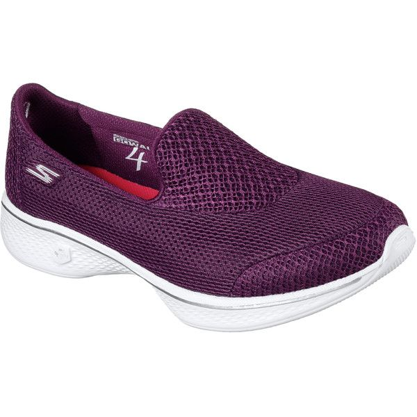 Skechers Women's Skechers Gowalk 4 - Propel Pink - Skechers... (1,145 EGP) ❤ liked on Polyvore featuring shoes, sneakers, pink, skechers, skechers sneakers, mesh sneakers, skechers footwear and mesh trainers