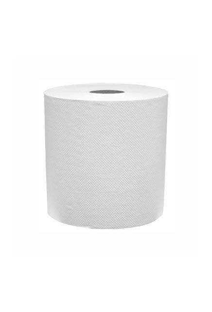 Cascades Elite, 700' Roll paper Towels: 12 rolls of 700', white roll paper towels