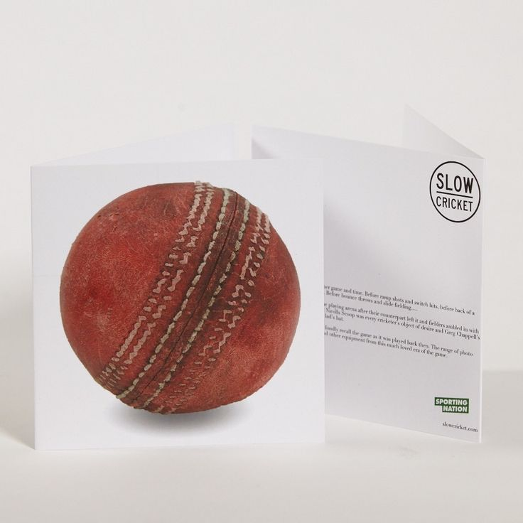 Slow Cricket_Old Ball Greeting Card.jpg