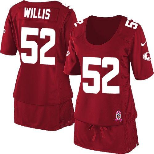 1f3b7ef6 reebok san francisco 49ers patrick willis 52 red replica jerseys sale