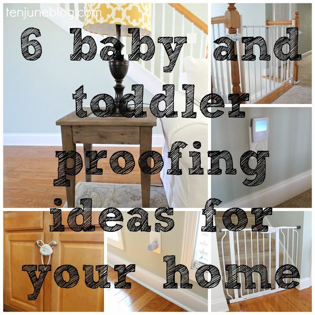 Baby And Toddler Proofing Ideas For Your Home