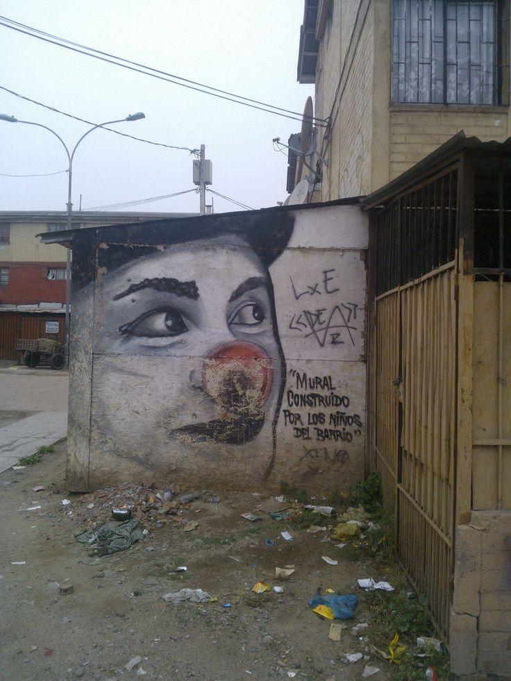 continuacion del mural de niños