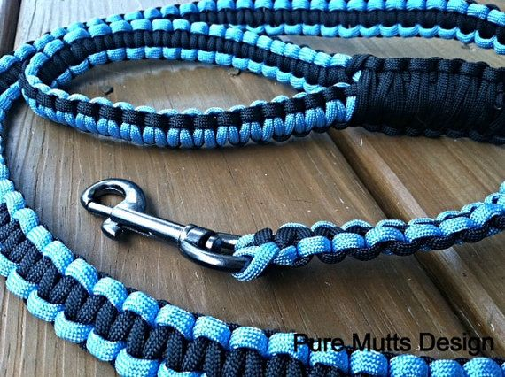 17 best images about diy para cord dog leashes on for Paracord leash instructions