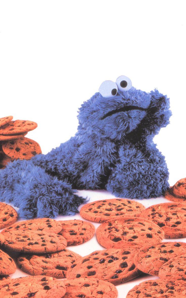 Cookie Monster's famous Got Milk Ad