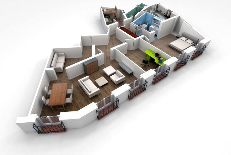 36 best FloorPlans images on Pinterest Modern homes, Floor plans