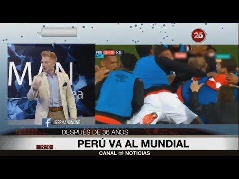LIBERMAN MAS PERUANO QUE NUNCA l ESTOY FELIZ PERU AL MUNDIAL - YouTube