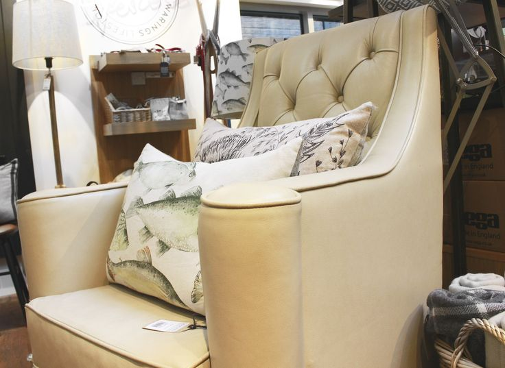 Your favourite armchair's best side kick - soft cushions