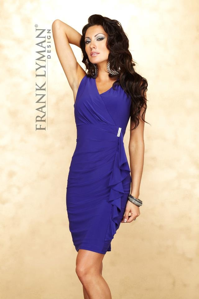Stunning dress from Frank Lyman Design Fall 2012 Collection Preview #FrankLyman