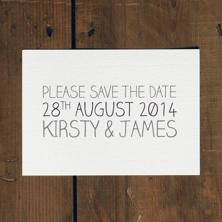 all words whimsical wedding invitation by feel good wedding invitations | notonthehighstreet.com