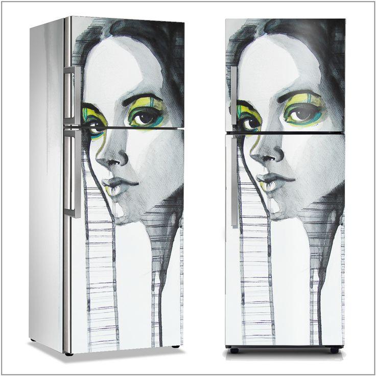 Κάνε το ψυγείο σου να μοιάζει με έργο τέχνης!  Αυτοκόλλητα ψυγείου: http://www.houseart.gr/catalogue.php?id=277  #houseart #fridge #decoration #diy #painting #draw #art #sticker #αυτοκόλλητο #ψυγείο #διακόσμηση #τέχνη #ζωγραφική