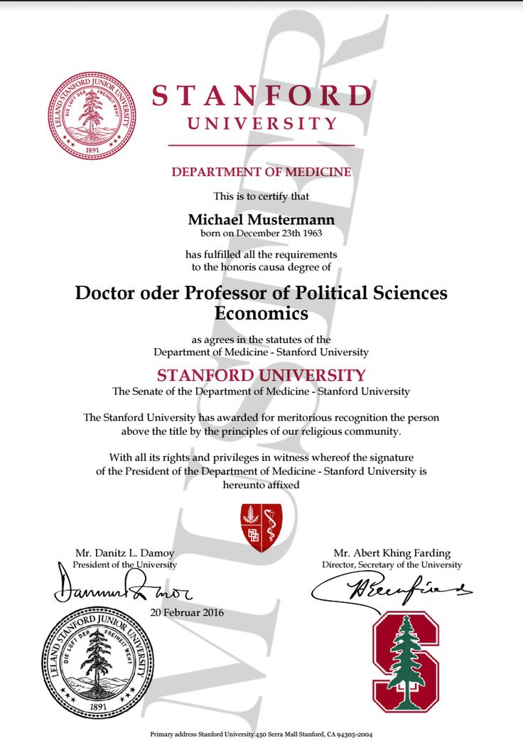 doktortitel kaufen stanford university berufszertifikate diplome doctor professor honorary degree certificate harvard