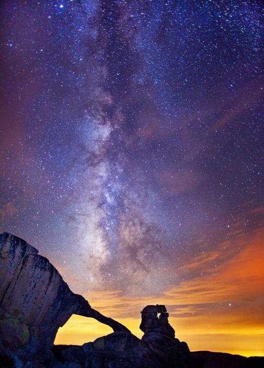 Indian Rock Arch, Yosemite