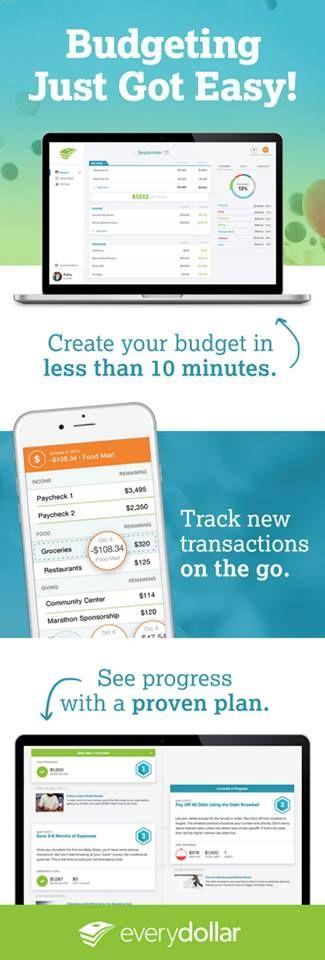 https://www.everydollar.com/?ectid=edtf.075  Setting up a budget has never been so easy!   Everydollar