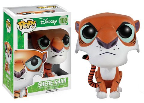 Funko POP! Disney: Jungle Book - Shere Khan. I don't even like this whole Pop fad... but this one is adorable. I'm going to name mine George. <3