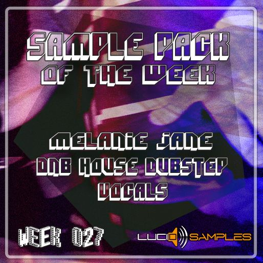 Sample Pack of the Week (027) Melanie Jane DnB House Dubstep Vocals / Description: Contains underground style vocal samples from one of Brixton South London's best female rappers Melanie Jane. Link: http://www.lucidsamples.com/sample-packs/225-pirate-mc-vocals-melanie-jane.html #vocals