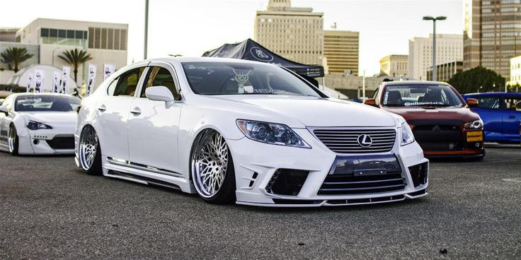"""Lexus LS460 on 22"""" LS01 by Infinitewerks. Click to view more photos and mod info."""