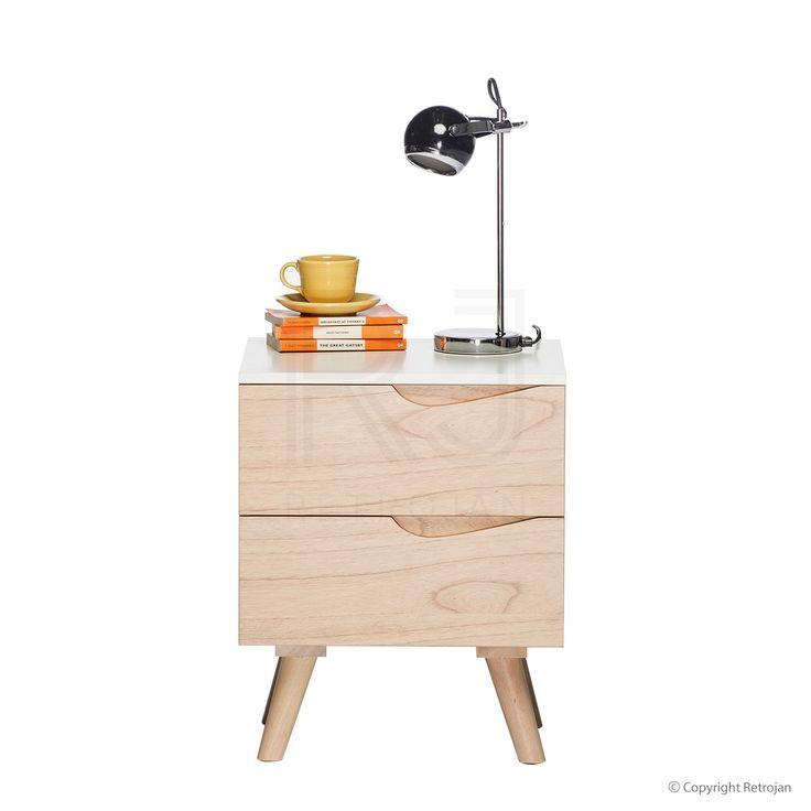 Eddie Scandinavian Style Bedside Table  | $229.00