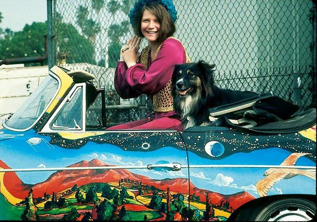 Janis' Porsche for Sale Trippy sports car expected to fetch $400K