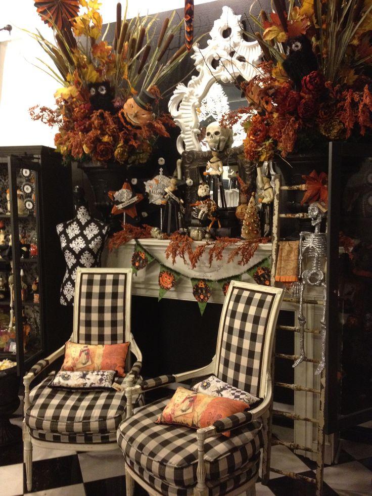 Fun Halloween Mantel Halloween Pinterest Halloween ideas