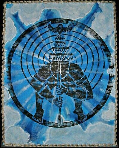 Obatala , Oxalá, Orixa of the mind and heavens by Ginga Helen Dos Santos
