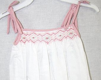 Toddler Sun Dress | Smocked Clothing | Spring Toddler Dress | White Sun Dress |Baby Sun Dress |Toddler Girl Outfits | Sundress  412066 A0607